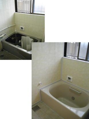 想い出をそのままに簡単リフォーム 佐賀市 I様邸 浴室
