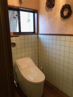 中津市トイレリフォーム お子様も使いやすいトイレ