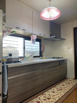 宇佐市 キッチンリフォーム シンプルでモダンなキッチン