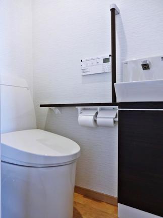 和室トイレ After