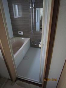四国中央市Sさま邸お風呂リフォーム