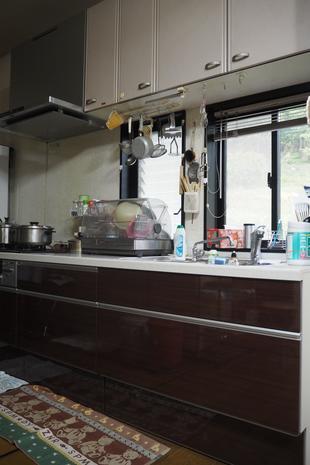 キッチン移設&レンジフード取替工事(久留米市御井町)