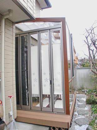 ガーデンリビング~陽射しを採り込むワンポイトリフォーム~