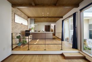 増築でお庭が映える開放感のある家へ