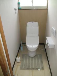 毎日使うトイレを節水タイプにリフォーム
