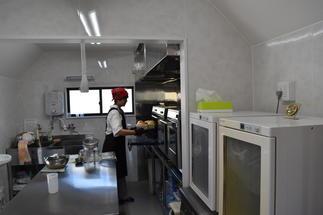 調理スペースは広々と!