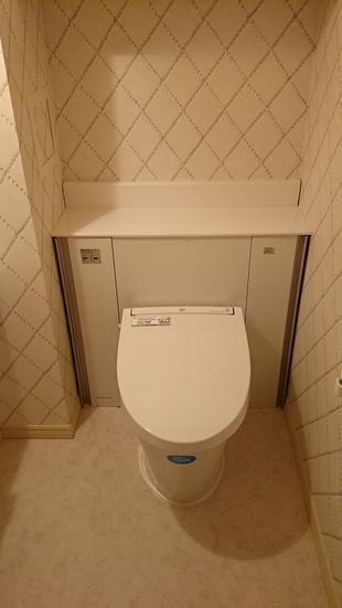 トイレ  改修しました!!