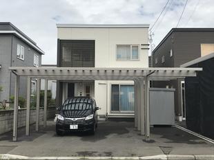 【札幌】N邸カーポート工事