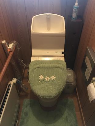 【札幌】I邸トイレ交換工事