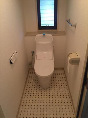 清潔感のあるトイレ空間