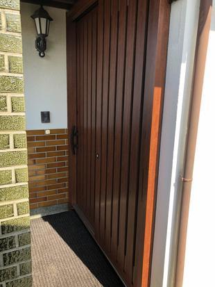 玄関リフォーム~カバー工法リシェント