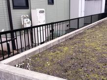 フェンスの取付工事