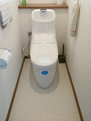 トイレ+αの交換工事