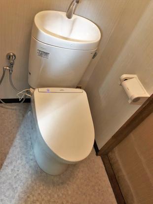 トイレの交換工事