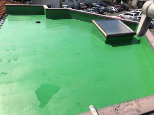 屋根の漏水補修工事