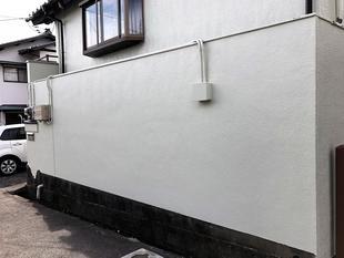 塀の塗り替え工事