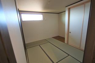 和室8帖を6帖+収納2.0帖に改造しました
