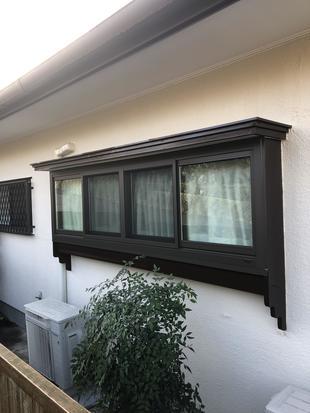 リフレムサッシ(出窓)で防音と断熱を