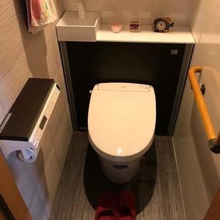 収納スペースUPで空気もキレイなトイレへ
