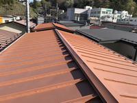【気仙沼】屋根上張り工事