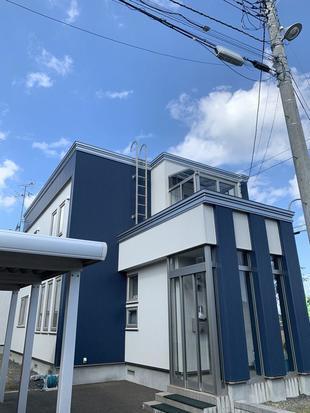 札幌市北区 外壁工事(ガルバリウム)