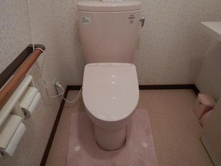 I様邸 トイレ温水洗浄便座 取替工事