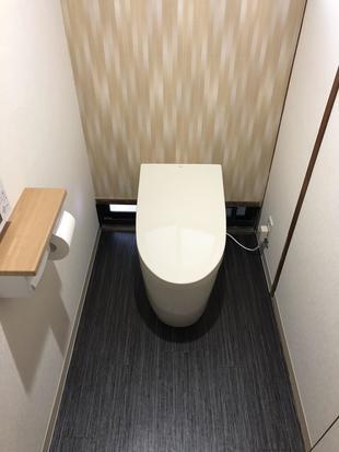 湯梨浜町H様邸トイレ取替(交換)リフォーム工事