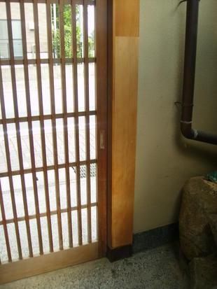 A様邸 玄関引戸修繕工事