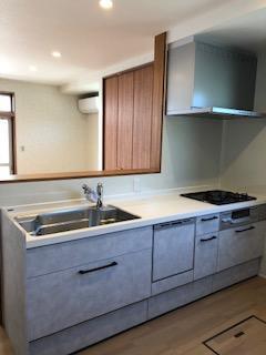 まるで新築の様なキッチンに変身☆『前橋市』
