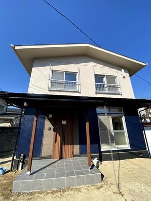 岡山市北区 軽量鉄骨の家をリノベーション