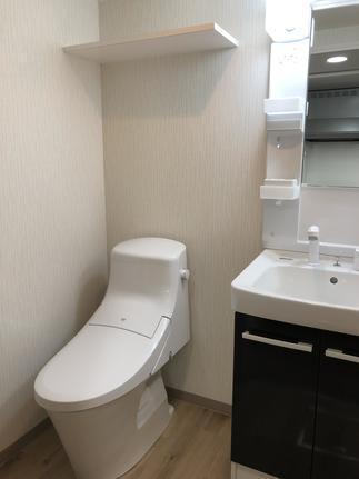 洗面&トイレを分ける