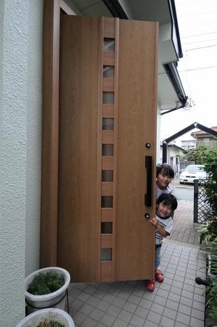 リシェントで玄関が更に素敵にリニューアル