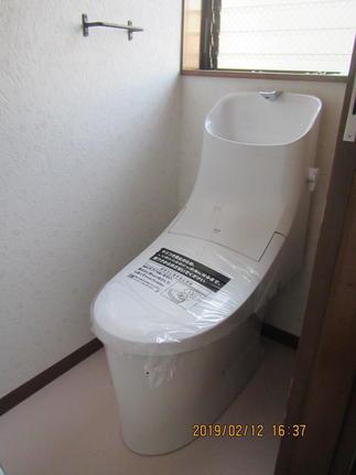 2階のトイレはアメージュZA