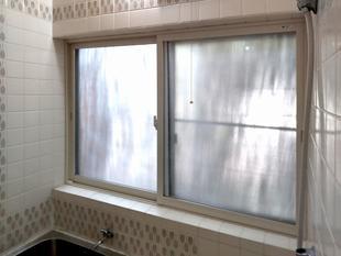 窓の結露軽減・断熱効果で浴室を快適に(甲斐市)