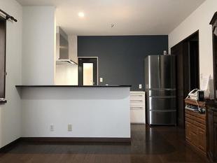 キッチンリフォーム / おしゃれですっきりとしたキッチンにリフォーム