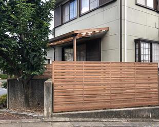 外構リフォーム / フェンスですっきりとお家が明るくなりました