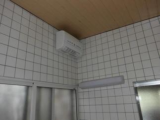 インプラス・換気乾燥暖房機取り付け