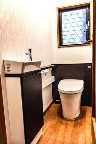 羽曳野市 N様邸 トイレ・洗面台リフォーム