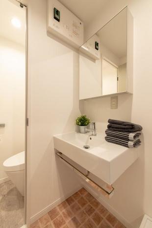 築40年のマンションをリノベーション~洗面・トイレ・バス in 川口市