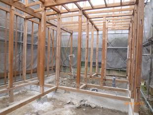 木造住宅の全面改修工事