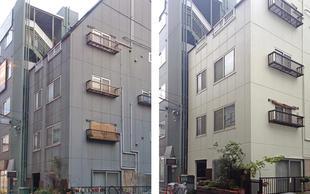 耐久性を向上させた外壁改修工事