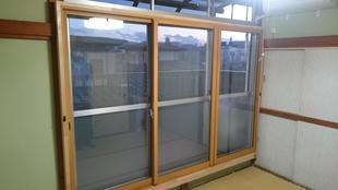 戸建て インプラス(内窓)取付け工事