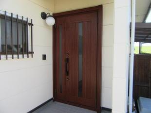 戸建て リシェント(玄関ドア)交換工事