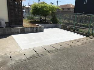 小山市S様邸 駐車場拡張リフォーム