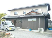 住居併用農機具庫から住宅に改装