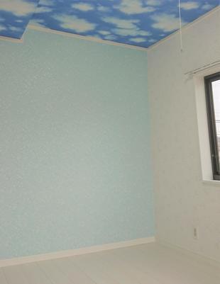 雨漏りによる修繕(屋根&内装)工事