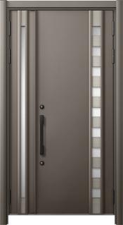 帯広市 リフォーム用断熱玄関ドアに交換して家の顔が一新!