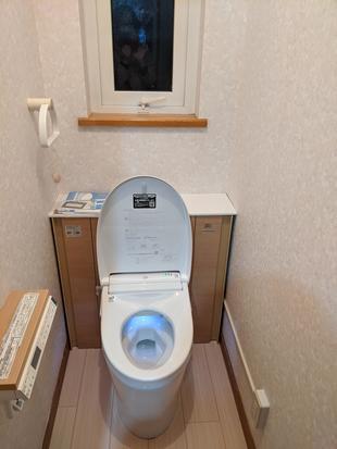 帯広市 収納付きトイレですっきり空間に!