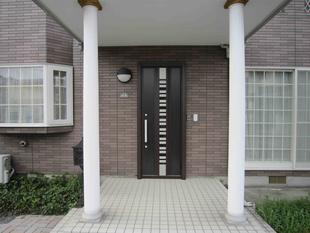 1日で玄関ドア交換