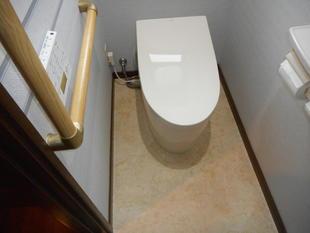 秋田県由利本荘市トイレをサティスにリフォーム